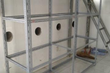Kệ sắt v lỗ tại Bắc Kạn Vinatech sản xuất tại xưởng BH 3 năm
