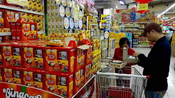 Tất tần tật các loại giá kệ siêu thị tại An Giang