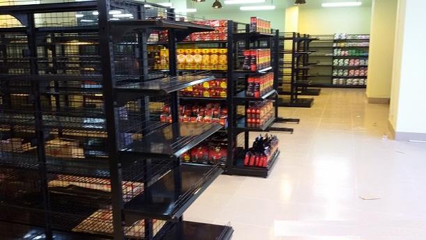 Bán giá kệ siêu thị tại Bến Tre