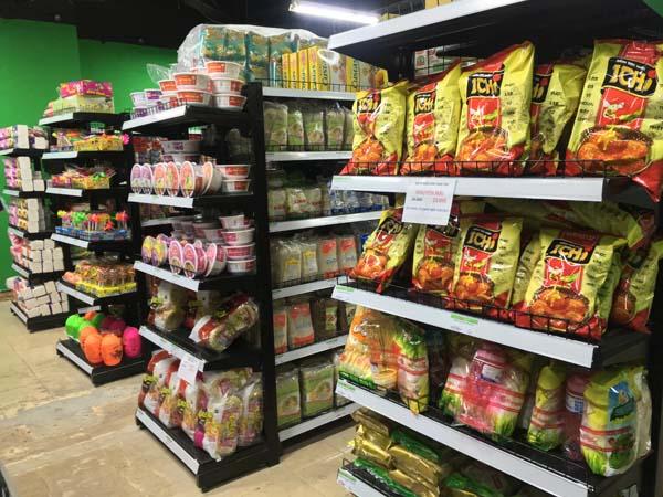 Giá kệ siêu thị tại Bình Thuận