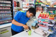Công dụng của kệ siêu thị đứng cạnh quầy thu ngân