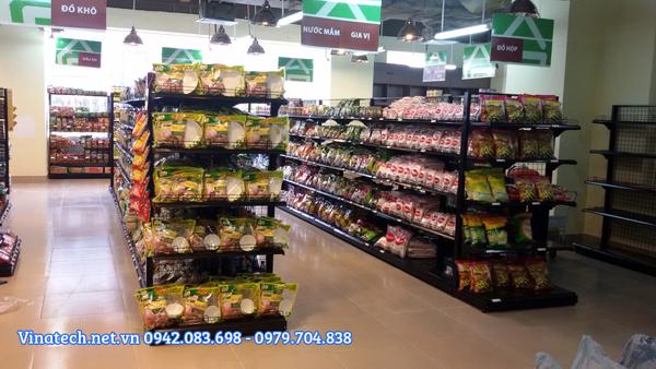 Kệ siêu thị tại Gia Lai với kích thước và mẫu đẹp tiêu chuẩn