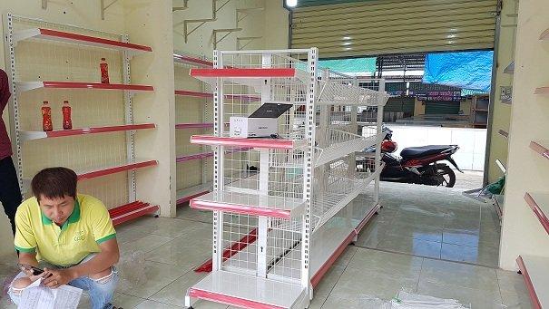 Hoàn thiện lắp đặt siêu thị mini cho anh Vũ tại Đồng Nai