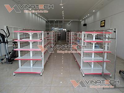 Lắp đặt kệ siêu thị cho chị Thanh - Tây Tựu - Hà Nội