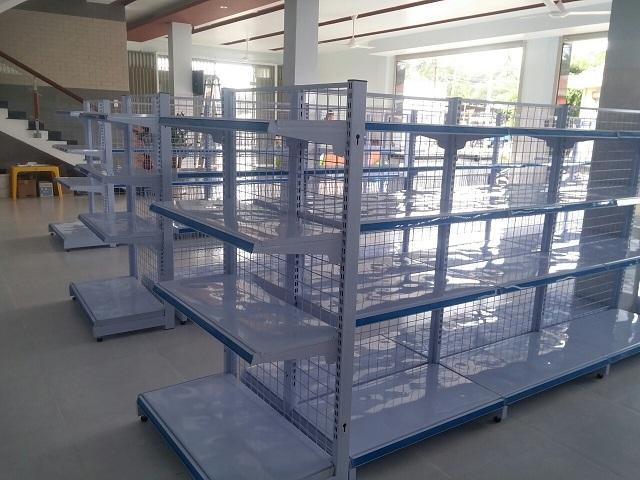 Hoàn thiện lắp đặt siêu thị mini cho anh Tâm tại Bà Rịa, Vũng Tàu