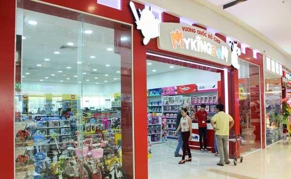 Lắp đặt kệ siêu thị cho Chuỗi cửa hàng đồ chơi My Kingdom