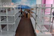 Kệ siêu thị tại Hà Đông do Vinatech sản xuất và lắp đặt