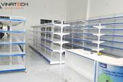 Vinatech lắp đặt kệ siêu thị tại Bình Định Giá tốt với chất lượng đảm bảo