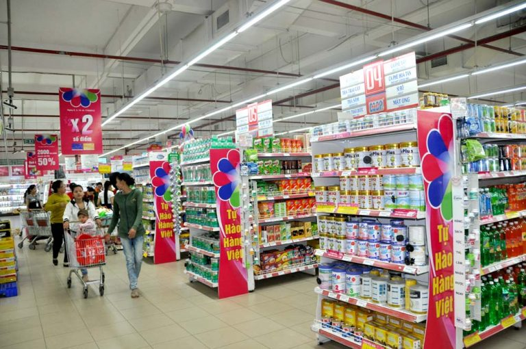 Giá kệ để hàng siêu thị tại Bình Phước giá rẻ lắp đặt tận nơi