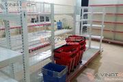 Vinatech lắp đặt giá kệ siêu thị Huyện Đan Phượng nhanh chóng tiện lợi