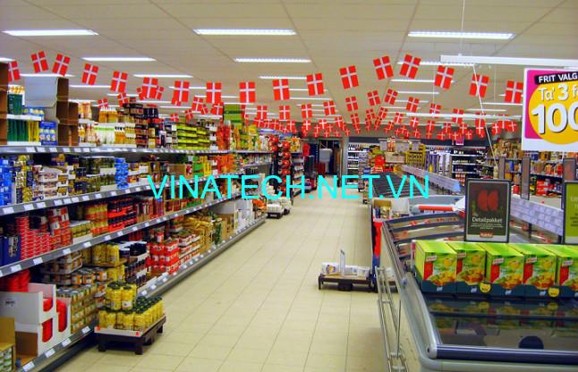 Giá kệ siêu thị tại Điện Biên