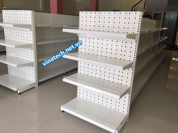Lắp đặt kệ siêu thị tôn lỗ tại Hưng Yên
