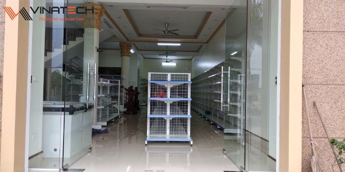 Lắp đặt siêu thị mini cho anh Quyết tại Lập Thạch, Vĩnh Phúc