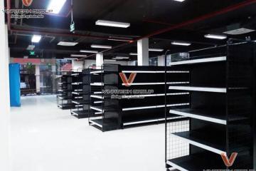 Kệ siêu thị tại Vĩnh Phúc giá tốt tiêu chuẩn ISO 9001
