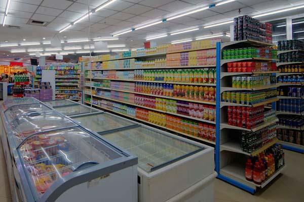 Giá kệ siêu thị Trà Vinh