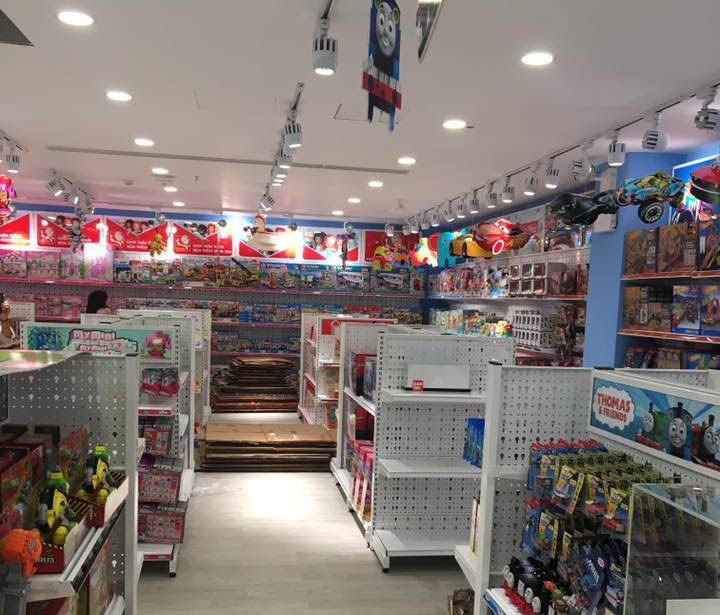 Miễn phí tư vấn, lắp đặt kệ siêu thị tại Bình Dương mới nhất năm 2019