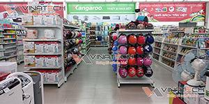 Vinatech cung cấp kệ siêu thị tại Đồng Tháp chất lượng tốt, giá thành rẻ