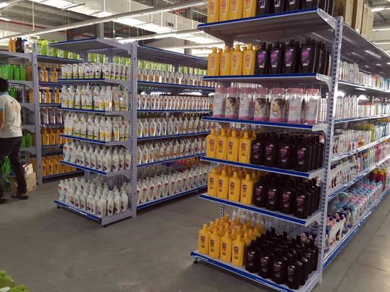 Kệ bày hàng tạp hóa, siêu thị vinatech phân phối trên cả nước