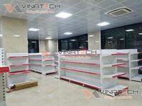 Lắp đặt kệ siêu thị cho Anh Khánh TP Vĩnh Yên - Vĩnh Phúc