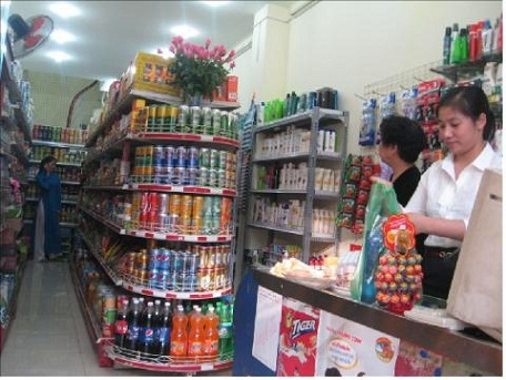 Giá kệ tạp hóa tại Hà Nội giá rẻ chất lượng tốt