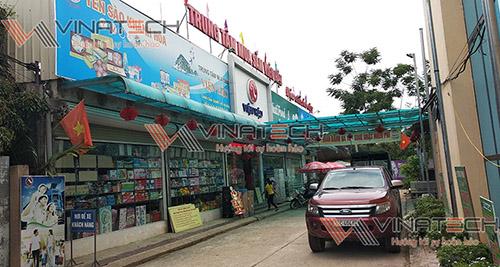 Lắp đặt kệ siêu thị cho anh Viện - Phú Thọ