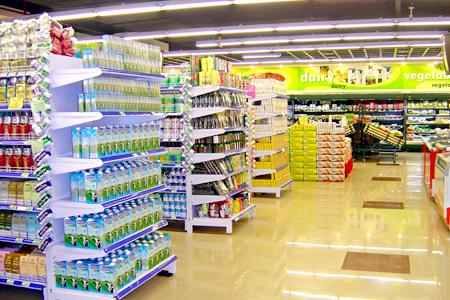 Cách thức bố trí không gian tối ưu cho siêu thị