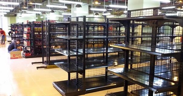 Kích thước tiêu chuẩn của kệ tạp hóa bày hàng, kệ siêu thị