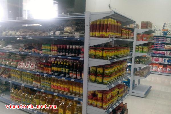 Triển khai kệ siêu thị tại G Mart tòa nhà Golden Palace Mễ Trì