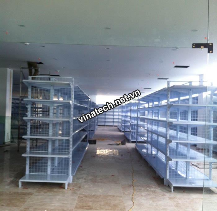 Lắp đặt kệ siêu thị cho Siêu thị Đồng Tiến - Lê Lợi, TP.Lạng Sơn