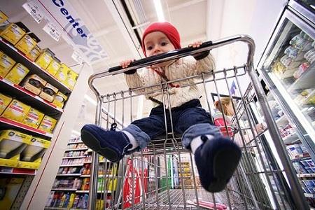 Lưu ý khi sử dụng xe đẩy hàng siêu thị