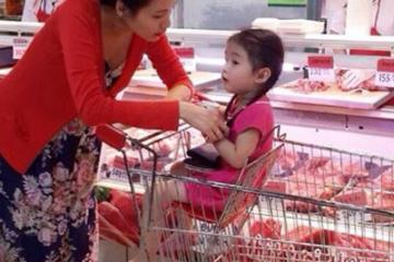 Hướng dẫn cách trang trí siêu thị mẹ và bé hút mắt khách hàng