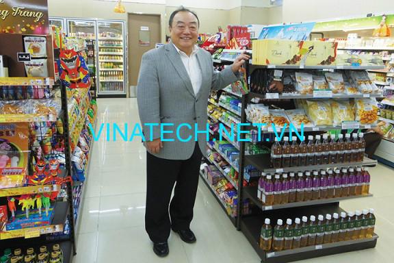 Kệ siêu thị Sơn La Vinatech cung cấp với nhiều mẫu Giá Rẻ