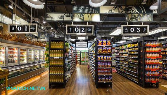 Bán giá kệ siêu thị tại Thái Nguyên
