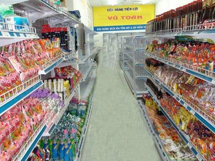 Mua giá kệ siêu thị để hàng ở đâu tốt?