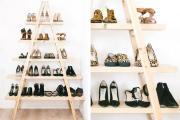 8 + mẫu giá kệ trưng bày giày dép đẹp nhất hiện nay