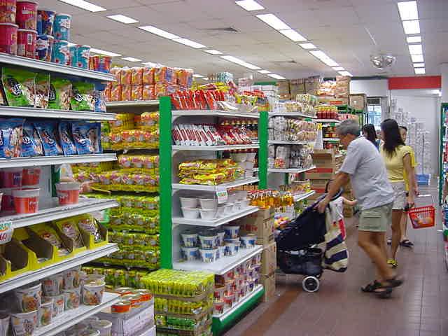 Phân biệt các loại hình cửa hàng siêu thị
