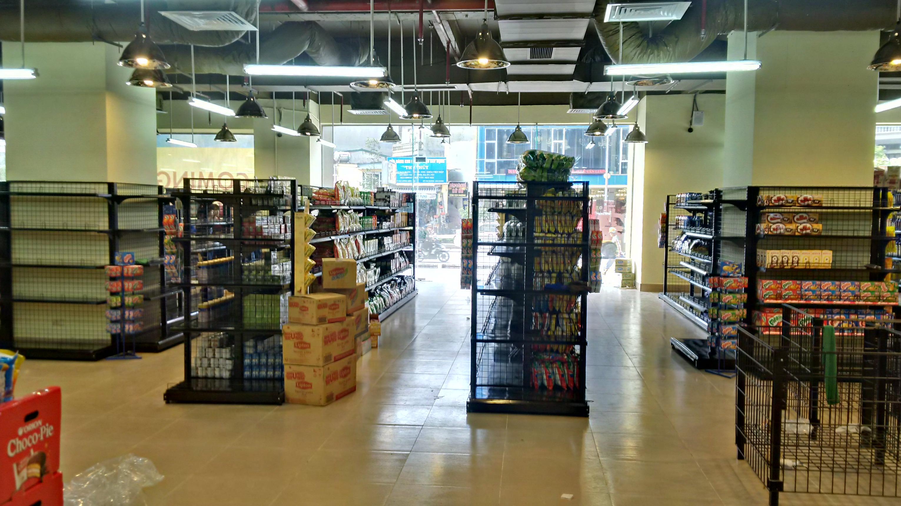 Phân phối kệ siêu thị chất lượng cao tại hà nội