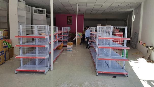 Lắp đặt siêu thị mini cho chị Hồng tại chợ Bình Chuẩn - Thuận An - Bình Dương