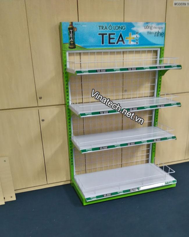 Sản xuất và lắp đặt kệ bày hàng siêu thị theo yêu cầu