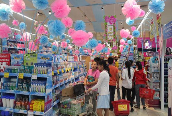 Vinatech sản xuất giá kệ siêu thị theo yêu cầu khách hàng
