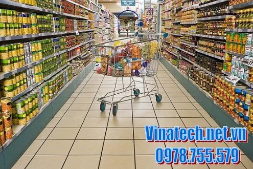 Sáng tạo trong việc bày hàng cho siêu thị, cửa hàng