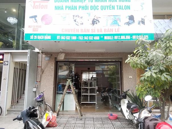 Hoàn thiện lắp đặt siêu thị mini cho anh Cường tại 26 Bạch Đằng - Hà Nội