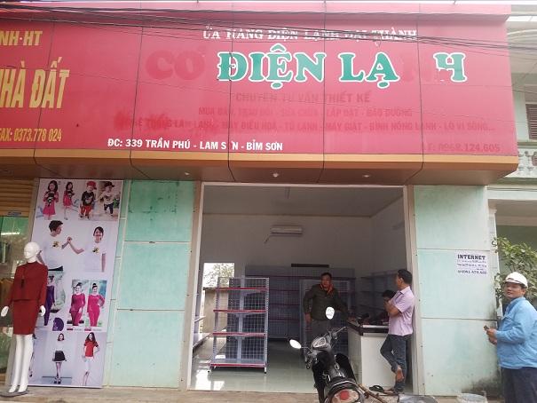 Lắp đặt giá kệ cho anh Hòa tại Bỉm Sơn - Thanh Hóa