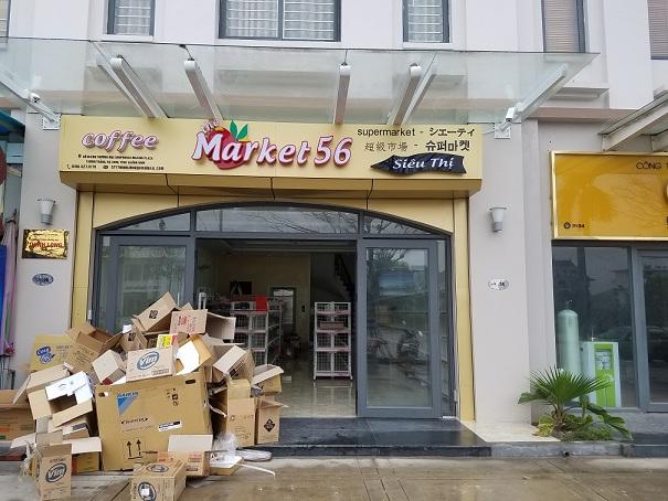Hoàn thành lắp đặt siêu thị Market 56 Ngọc Hồi - Hà Nội