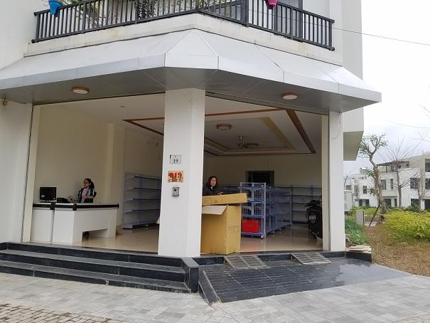 Lắp đặt siêu thị mini cho anh Hưng tại Lào Cai
