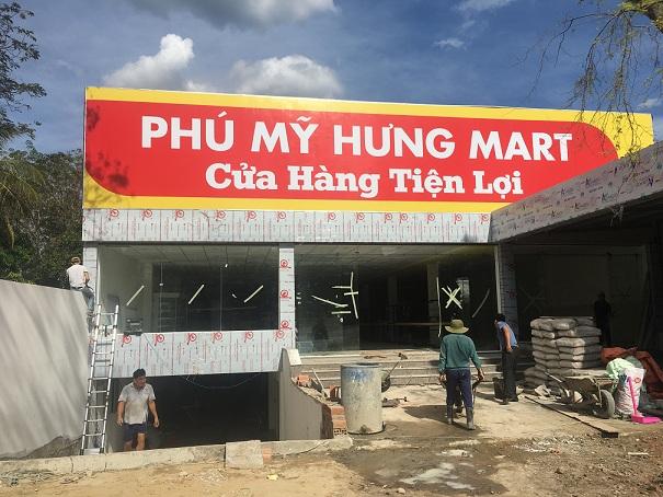 Lắp đặt giá kệ cho siêu thị tiện lợi Phú Mỹ Hưng