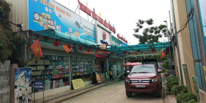 Lắp đặt giá kệ bán hàng cho siêu thị của anh Viện tại Phú Thọ
