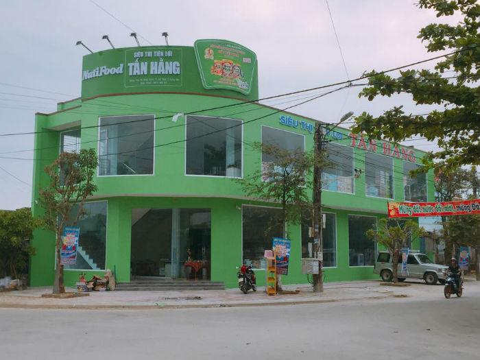 Lắp đặt siêu thi Tấn Hằng tại Quảng Nam