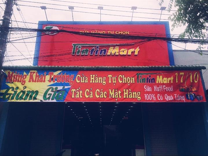 Vinatech chúc mừng khai trương siêu thị Tin Tin Mart tại Tánh Linh - Bình Thuận
