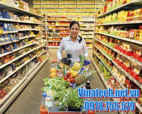Khái niệm về kệ siêu thị